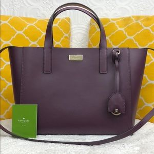 🌸OFFERS?🌸Kate Spade Leather Burgundy Satchel